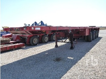 Traylona GP4CHL15T 72 Ton Quad/A Extendable - transportjer kontejnerësh/ gjysmërimorkio me karroceri të çmontueshme