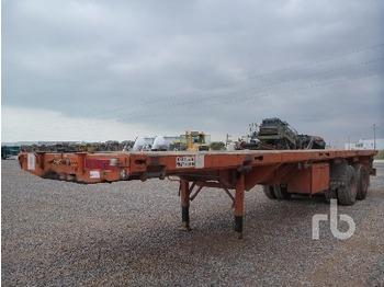 Traylona KPBF2 T/A Extendable - transportjer kontejnerësh/ gjysmërimorkio me karroceri të çmontueshme