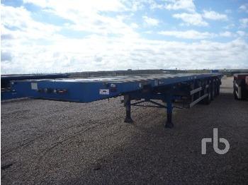 Traylona PE4CHM13T 84 Ton Quad/A Extendable - transportjer kontejnerësh/ gjysmërimorkio me karroceri të çmontueshme