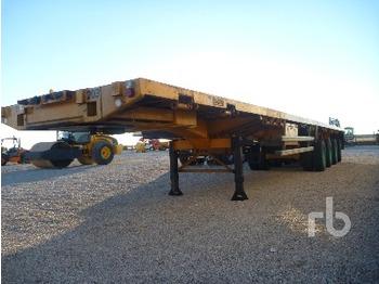 Traylona PE4CHM13T Quad/A Extendable 77 Ton - transportjer kontejnerësh/ gjysmërimorkio me karroceri të çmontueshme
