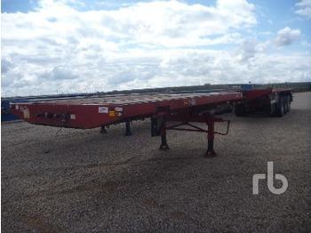 Traylona PED5R3E 59 Ton Tri/A Extendable - transportjer kontejnerësh/ gjysmërimorkio me karroceri të çmontueshme