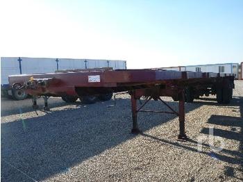 Traylona SIBLE T/A Extendable - transportjer kontejnerësh/ gjysmërimorkio me karroceri të çmontueshme