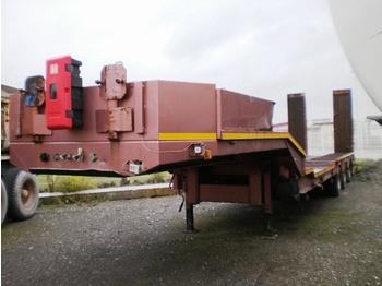 VEREM MACHINE CARRIER TRAILER - gjysmërimorkio