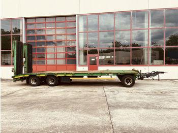 Goldhofer  3 Achs Tiefladeranhänger  - عربة مسطحة منخفضة مقطورة