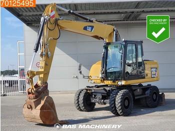 Caterpillar M313 D MP + HP - From Cat dealer - Low hours - bager na kolesih