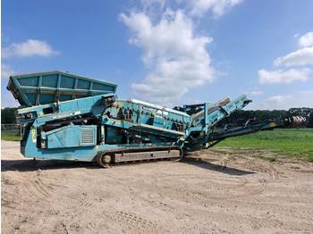 PowerScreen Warrior 1800 2 deck / nice machine  - presejalnik