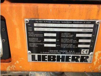 Bager guseničar LIEBHERR R904C HDSL
