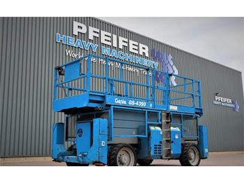 Genie GS4390RT Diesel, 4x4 Drive, 15.11m Working Height,  - lift u obliku makaza