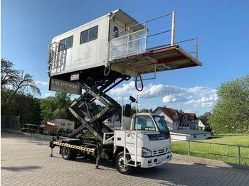 ISUZU NPR MD-5804 Mentőlift - камион со подигачка кошница