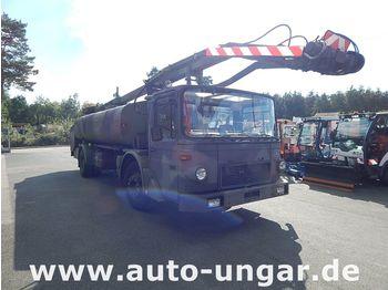 MAN 14.192 Unterflur Hubarbeitsbühne / Enteiser Schröder - камион со подигачка кошница