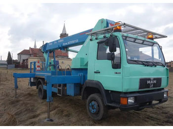 MAN L2000 - камион со подигачка кошница