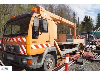 MAN Ruthmann personløfter - камион со подигачка кошница