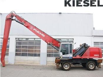 Fuchs MHL360 E - справувач со отпад/ индустрија