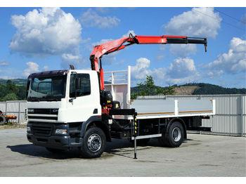 DAF CF 85.380*Pritsche 5,80m+KRAN *4x2*Topzustand!  - бортовой грузовик