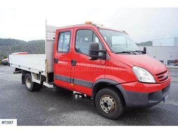 IVECO DAILY 65 C 18 DOKA Darus Platós - бортовой грузовик