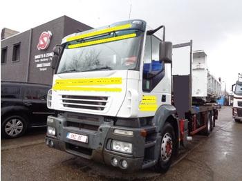 Бортовой грузовик Iveco Stralis 350 no crane ohne cran