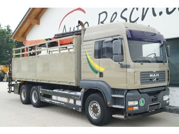 MAN TGA 26.480 mit Palfinger Kran 24001L Performanc  - бортовой грузовик