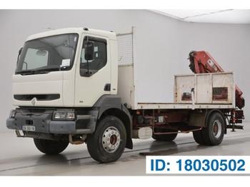 Бортовой грузовик Renault Kerax 340