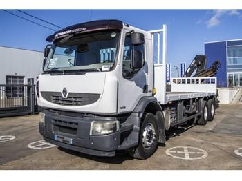 Бортовой грузовик Renault PREMIUM LANDER 320 DXI + HIAB 166-3 (Remote C.)
