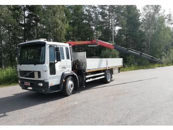 Бортовой грузовик Volvo FL 612 Palfinger PK 3400-4