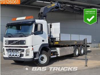 Volvo FM 380 6X2 Euro 5 Kran Crane Palfinger PK 23002 - бортовой грузовик