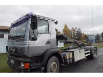 Грузовик-контейнеровоз/ сменный кузов MAN 15.224 Multilift VL-laite