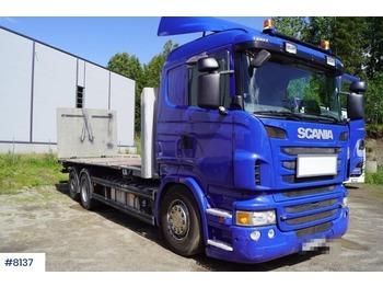 Scania R480 - грузовик-контейнеровоз/ сменный кузов