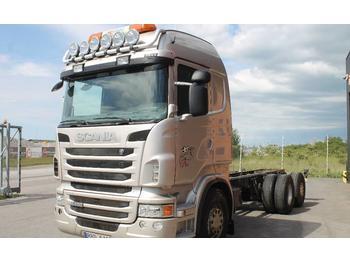 Scania R480LB6X2*4HNB Euro 5  - грузовик-контейнеровоз/ сменный кузов