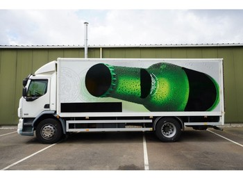 DAF LF 55.220 CLOSED BOX 209.000KM - грузовик с закрытым кузовом