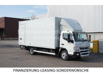 FUSO CANTER 9c18 Koffer Seitentür LBW Duonic Klima E6  - грузовик с закрытым кузовом