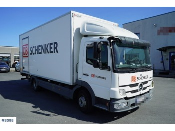 Mercedes-Benz 818 City KPL - грузовик с закрытым кузовом