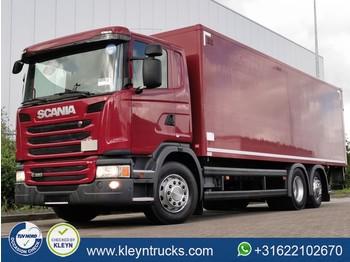 Scania G320 6x2*4 e6 152 tkm - грузовик с закрытым кузовом