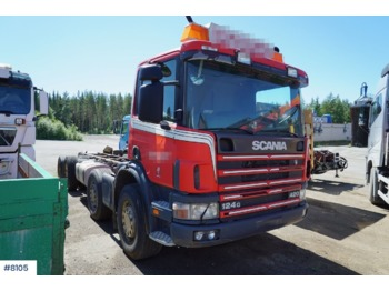 Scania P124 - грузовик-шасси