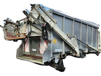 Loosen 15m³ Tierabfall Kipper V4A Edelstahl  - портальный бункеровоз