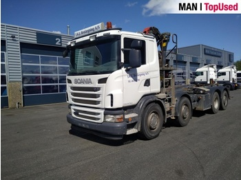 Scania G400 8X2 - портальный бункеровоз