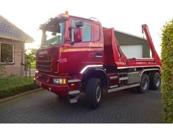 Scania G 450 - портальный бункеровоз