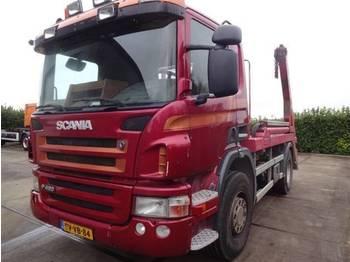 Scania P 380 - портальный бункеровоз