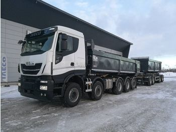 Самосвал IVECO X-Way AS 340X57 10x4 ELG aut.kasetti