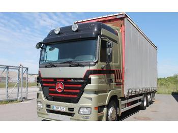 MERCEDES BENZ ACTROS 2546 L 6X2  - тентованный грузовик