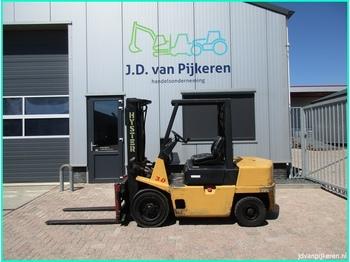 4-riteņu autokrāvējs HYSTER H3.00XL diesel triplex 4.4m + sideshift doorrij 208cm!