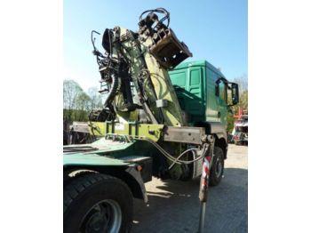 MAN LOGLIFT 135 Z 94 A do drewna drzewa lasu - grúa para camion