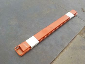 "Unused 72"" Fork Extension to suit Forklift (2 of) - horquillas"