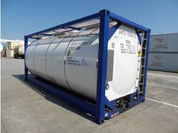 Izmjenjivi sanduk - spremnik CIMC cimc tankcontainer 8-2017 25.000 ltr