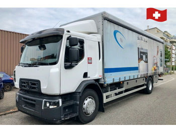 Renault D Weide 18.320  - kamion s kliznom bočnom ceradom