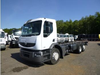 Renault Premium 320 dxi 6x2 chassis - kamion sa golom šasijom i zatvorenom kabinom