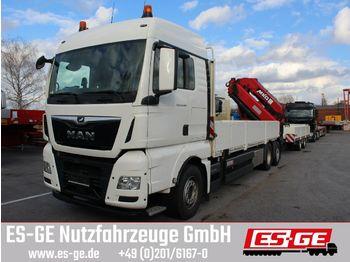 MAN TGX 26500 6x2-4 BL mit MKG-Ladekran HLK531 a5  - камион со страна на спуштање