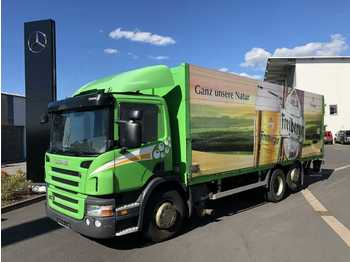 Kamion za prevoz boca Scania P320DB 6x2 Getränkefahrzeug LBW 2x AHK