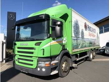 Kamion za prevoz boca Scania P320 DB 6x2 Getränkefahrzeug LBW 2x AHK