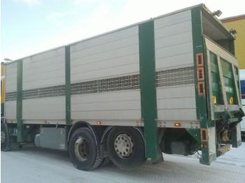 Kamion za prevoz stoke Scania 114 6x2 Schweinetransp Doppelstock