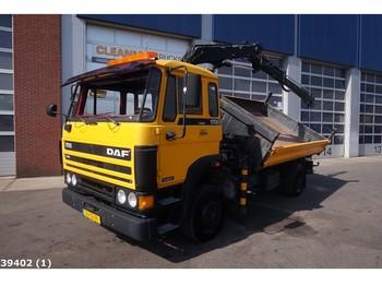 Kiper DAF 1700 Hiab 7 ton/meter laadkraan: slika kiper DAF 1700 Hiab 7 ton/meter laadkraan